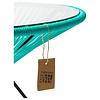 Tafel Japón XL aqua turquoise met glazen blad