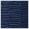 Alfombra de algodón azul índigo, tejida a mano, colorante natural 140x200cm