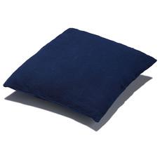 Kussensloop, indigo blauw