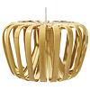 Lampe suspendue bambou, avec câble