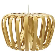 Lámpara colgante de bambú