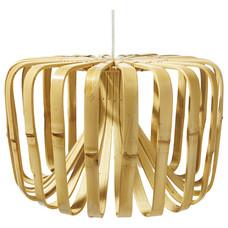 Lampada a sospensione in bambù XL