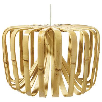 Lámpara colgante de bambú  XL, con cable