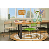 Polanco dining chair sled base beige
