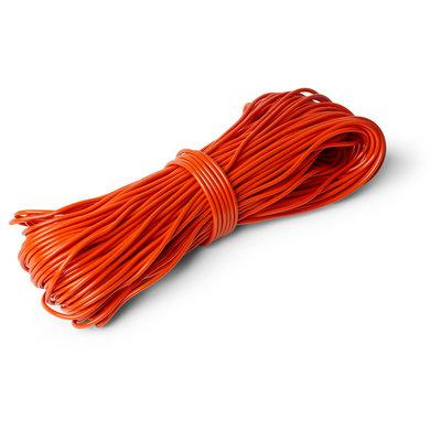 Rouleau de corde PVC orange