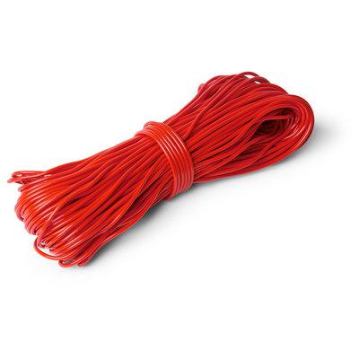 Cordón de PVC rojo