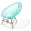 Acapulco kinder/baby stoel turquoise
