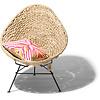 Acapulco stoel van natuurlijke palmbladeren