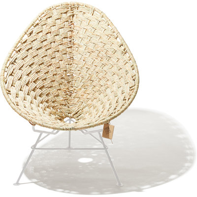 Acapulco chair Tule, white frame