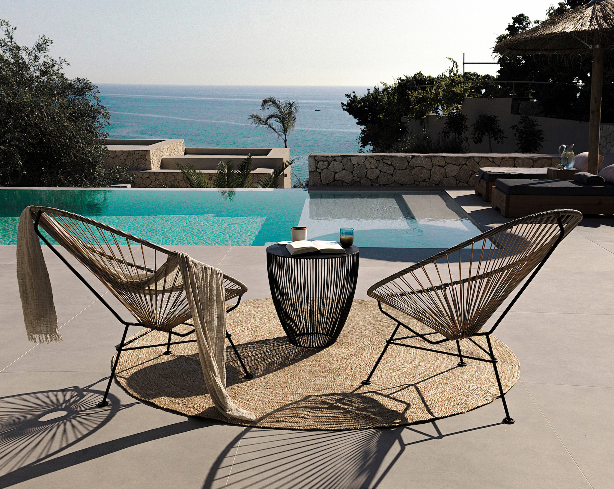 Acapulco Chairs Corfu Greece Mimi and Coco