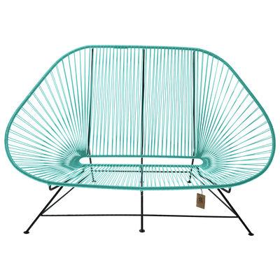 Acapulco sofa canapé  turquoise, adapté pour 2 personnes