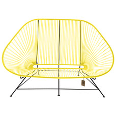 Acapulco 2 Seater Sofa canary yellow