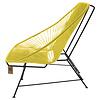 Acapulco Zweisitzer Sofa kanariengelb, geeignet für 2 bis 3 Personen