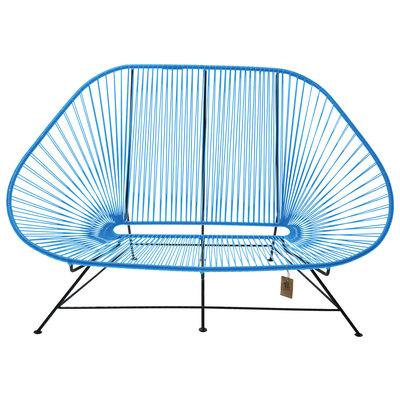 Acapulco Zweisitzer Sofa blau, geeignet für 2 bis 3 Personen