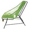 Acapulco 2 Seater Sofa apple green, suitable for 2 to 3 people