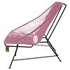 Acapulco sofa canapé rose pastel, adapté pour 2 personnes