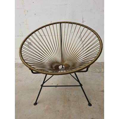 Condesa chair dark gold
