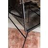 Chaise luge de salle à manger Polanco noir