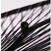 Fauteuil Acapulco classique noir, faite à la main - Amovible