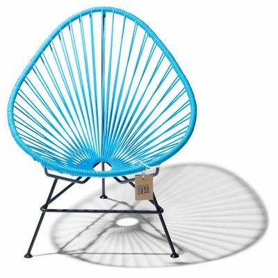 Acapulco Stuhl blau, 100% handgefertigt in Mexiko
