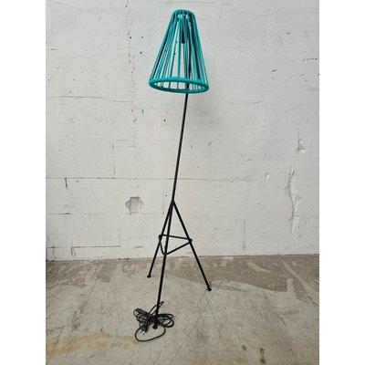 Kahlo vloerlamp turquoise