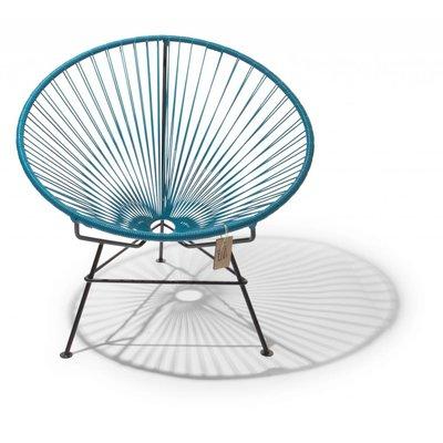 Condesa stoel in petrol blauw - showroommodel