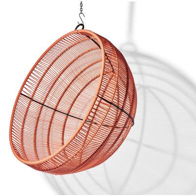 Boba hanging chair salmon pink
