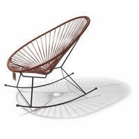 Acapulco rocking chair 100% leather