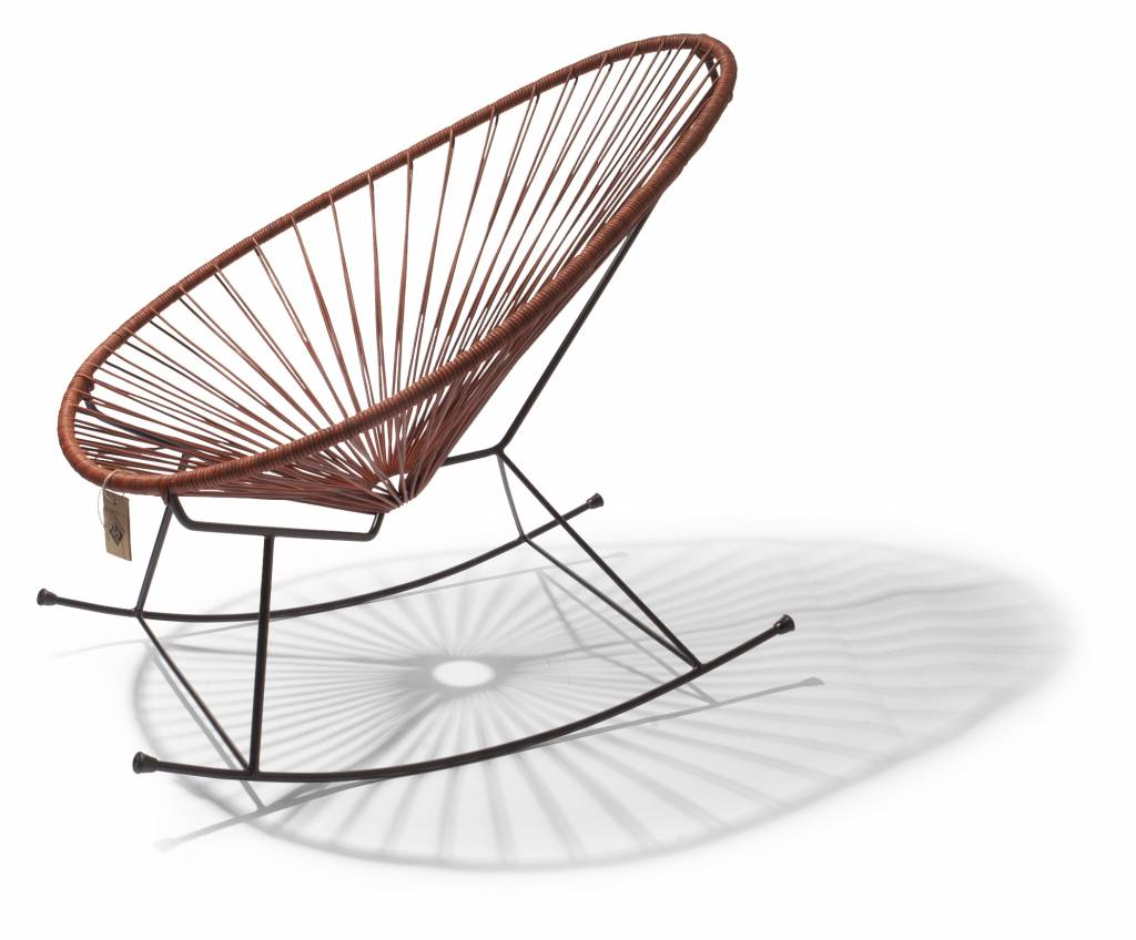 Terrific Acapulco Rocking Chair 100 Leather Caraccident5 Cool Chair Designs And Ideas Caraccident5Info