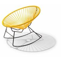 Condesa schommelstoel geel