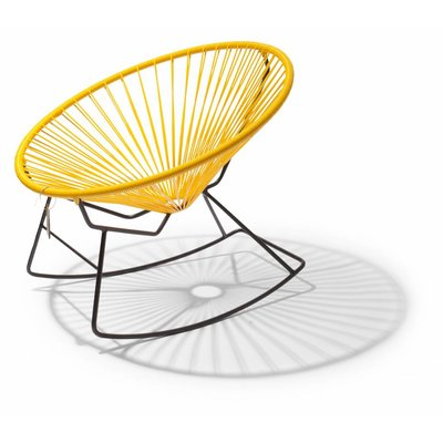 Condesa rocking chair yellow