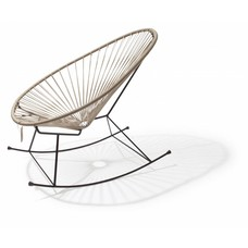 Acapulco rocking chair beige