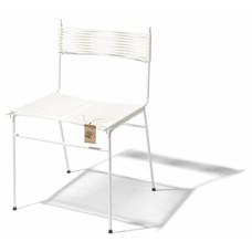 Chaise de salle à manger Polanco blanc
