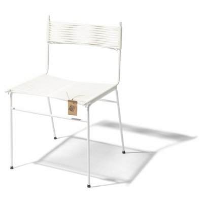 Chaise de salle à manger Polanco 100% blanc