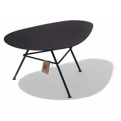 Table Zahora - acier noir
