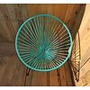 Condesa stoel turquoise, handgemaakt in Mexico