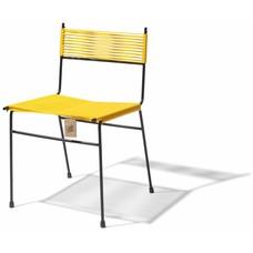 Chaise de salle à manger Polanco jaune