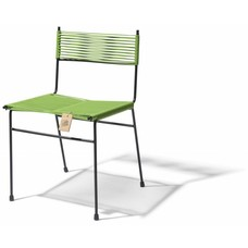 Sedia da pranzo Polanco verde oliva