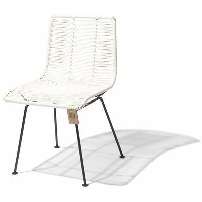 Chaise de salle à manger blanc