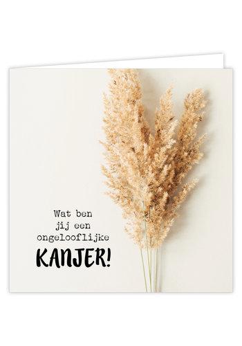 Wenskaart Kanjer 6 st.