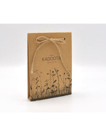 Kadobon verpakking bloem excl. inlay 50 st.