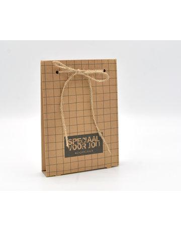 Kadobon verpakking ruit excl. inlay 50 st.