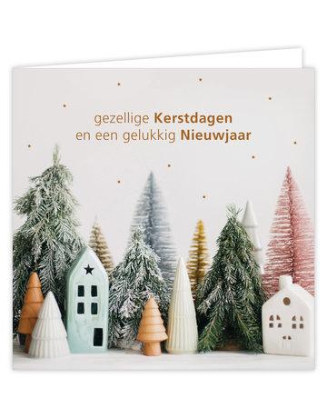 Wenskaart Kerst 6 St.