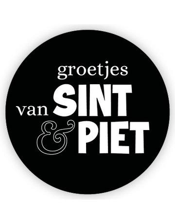 Etiket Sinterklaas 200 St. ø65