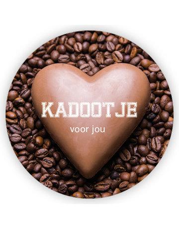 Coffee Etiket ø65mm à 200 St.