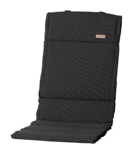 Madison Tuinstoelkussen Fiber de luxe (Rib Black) 123x50cm
