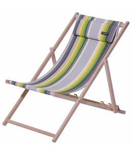 Madison Wood Beachchair Guatamala (Lime)