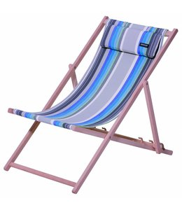Madison Wood Beachchair Guatamala (Blue)