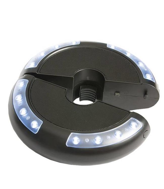 Madison Parasollamp met led verlichting, muziek en bluetooth
