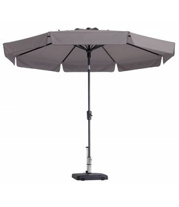 Madison Parasol Flores Luxe ∅300cm (Taupe)